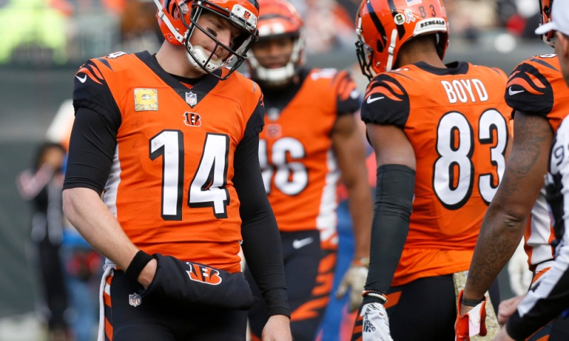 NFL: New Orleans Saints at Cincinnati Bengals