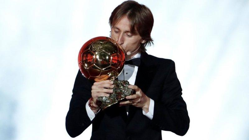 Modric Ballon d'Or