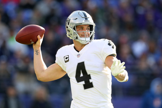 Oakland Raiders v Baltimore Ravens
