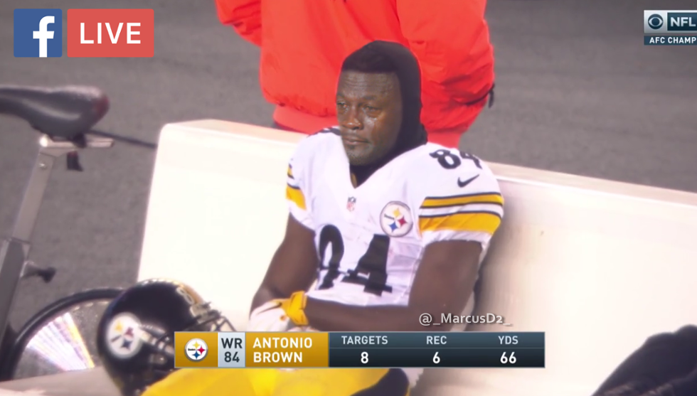 Image result for crying steelers
