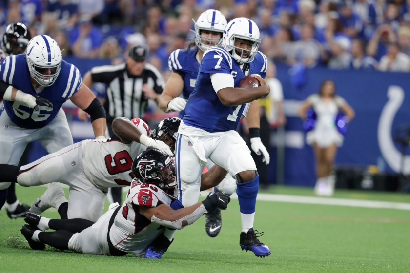 Falcons Colts Football