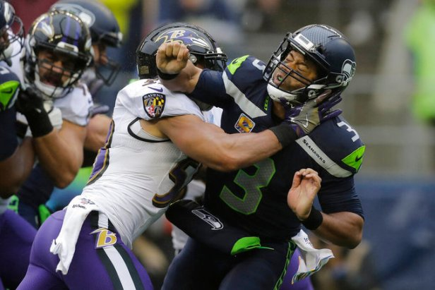 Ravens Seahawks Football