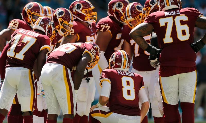 Washington Redskins vMiami Dolphins