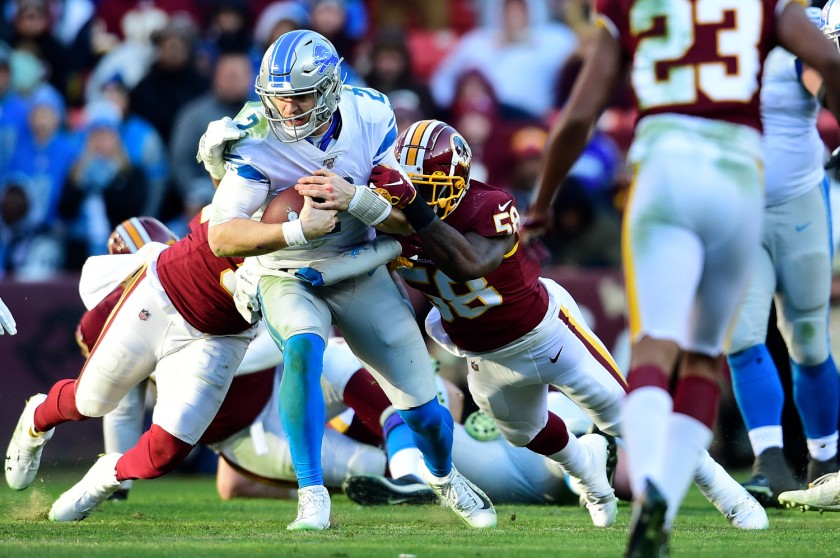 Detroit Lions v Washington Redskins