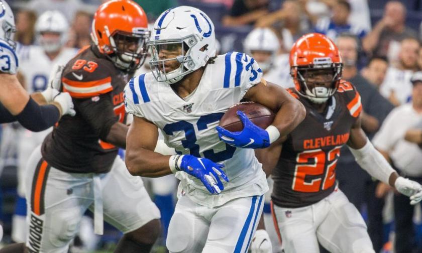 NFL: Preseason-Cleveland Browns at Indianapolis Colts