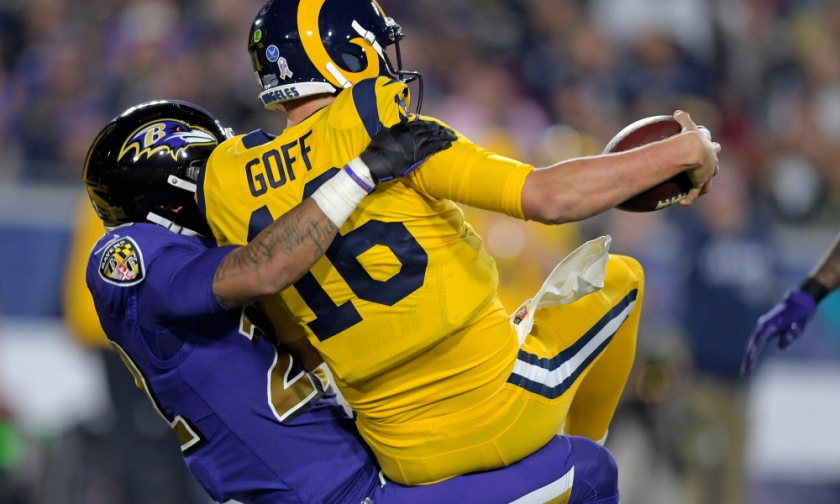 NFL: Baltimore Ravens at Los Angeles Rams