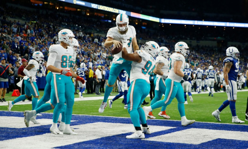 NFL: Miami Dolphins at Indianapolis Colts