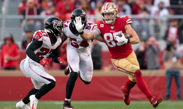 NFL: Atlanta Falcons at San Francisco 49ers