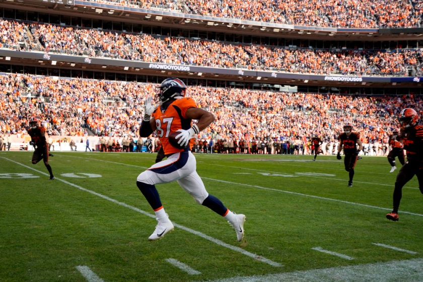 APTOPIX Browns Broncos Football
